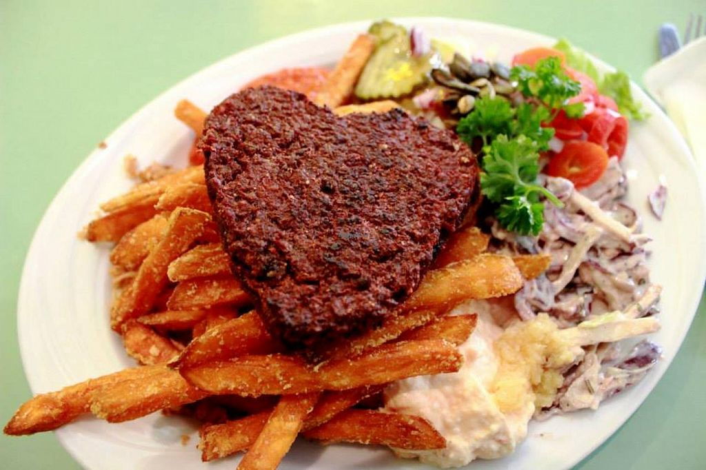 "Photo of Soi Soi  by <a href=""/members/profile/SueClesh"">SueClesh</a> <br/>hemp patty with sweet potato fries <br/> April 8, 2015  - <a href='/contact/abuse/image/37473/98246'>Report</a>"