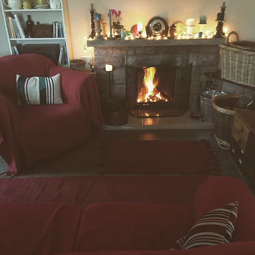 """Photo of Loaf BnB  by <a href=""""/members/profile/britred11"""">britred11</a> <br/>Evening in front of the fireplace <br/> August 5, 2017  - <a href='/contact/abuse/image/37483/289179'>Report</a>"""
