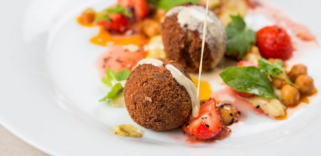"""Photo of Marks  by <a href=""""/members/profile/TomStraub"""">TomStraub</a> <br/>vegan falafel <br/> May 2, 2014  - <a href='/contact/abuse/image/37485/69116'>Report</a>"""