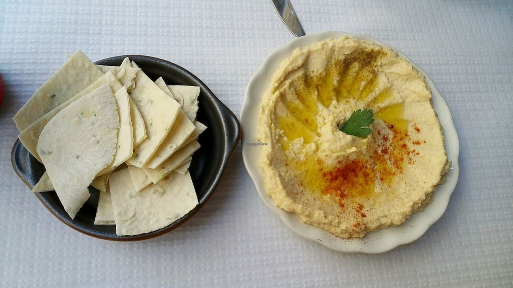 """Photo of Sabores do Sebouh  by <a href=""""/members/profile/%D7%A0%D7%95%D7%A4%D7%A8"""">נופר</a> <br/>tasty hummus <br/> September 16, 2017  - <a href='/contact/abuse/image/37498/305002'>Report</a>"""