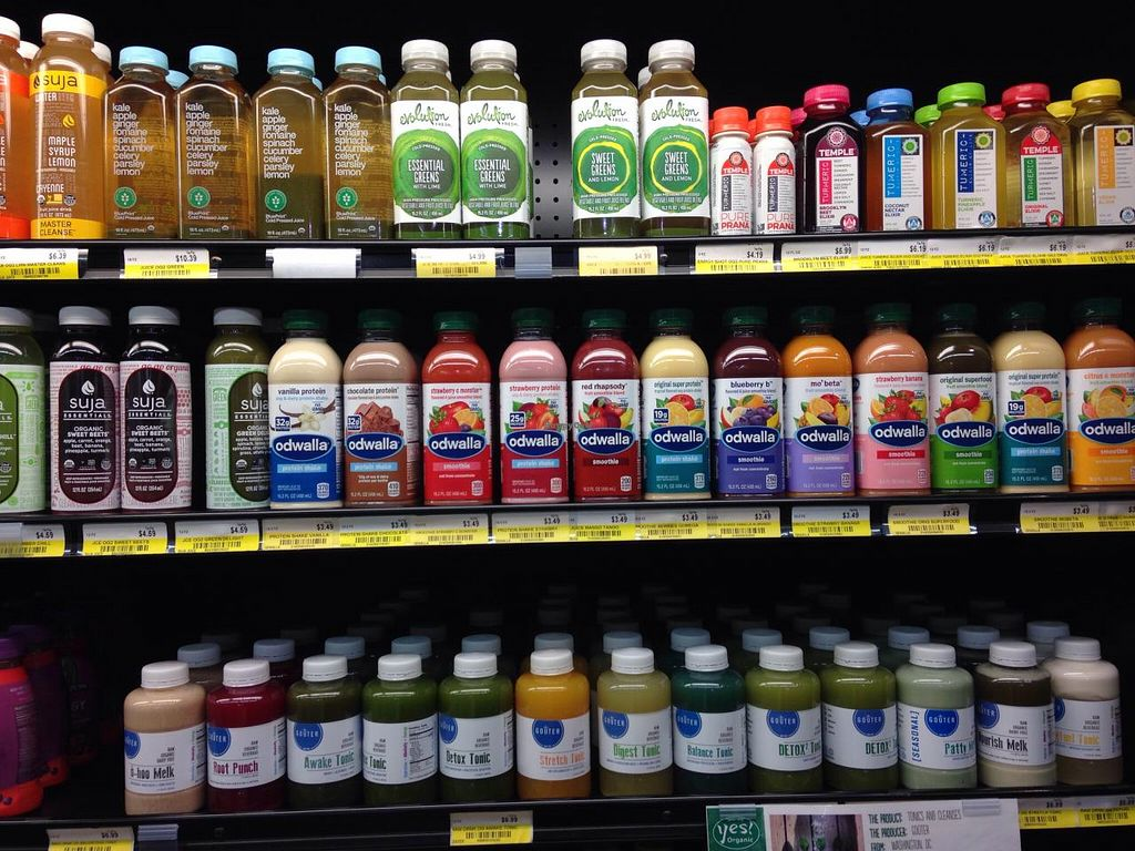 "Photo of Yes! Organic Market - Petworth  by <a href=""/members/profile/cookiem"">cookiem</a> <br/>A refrigerator section just for the juice enthusiasts! <br/> April 28, 2015  - <a href='/contact/abuse/image/37517/100565'>Report</a>"