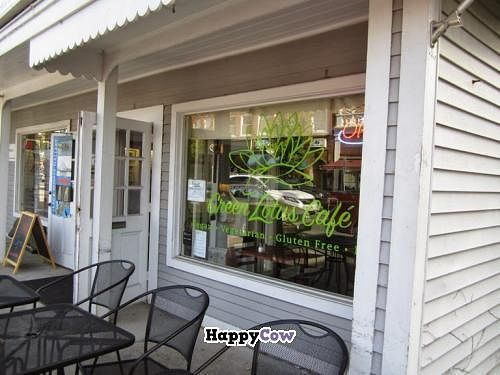 """Photo of Green Lotus Cafe  by <a href=""""/members/profile/Julie%20R"""">Julie R</a> <br/>Outside of Green Lotus.  Good location right on Main Street <br/> November 1, 2013  - <a href='/contact/abuse/image/37523/57689'>Report</a>"""