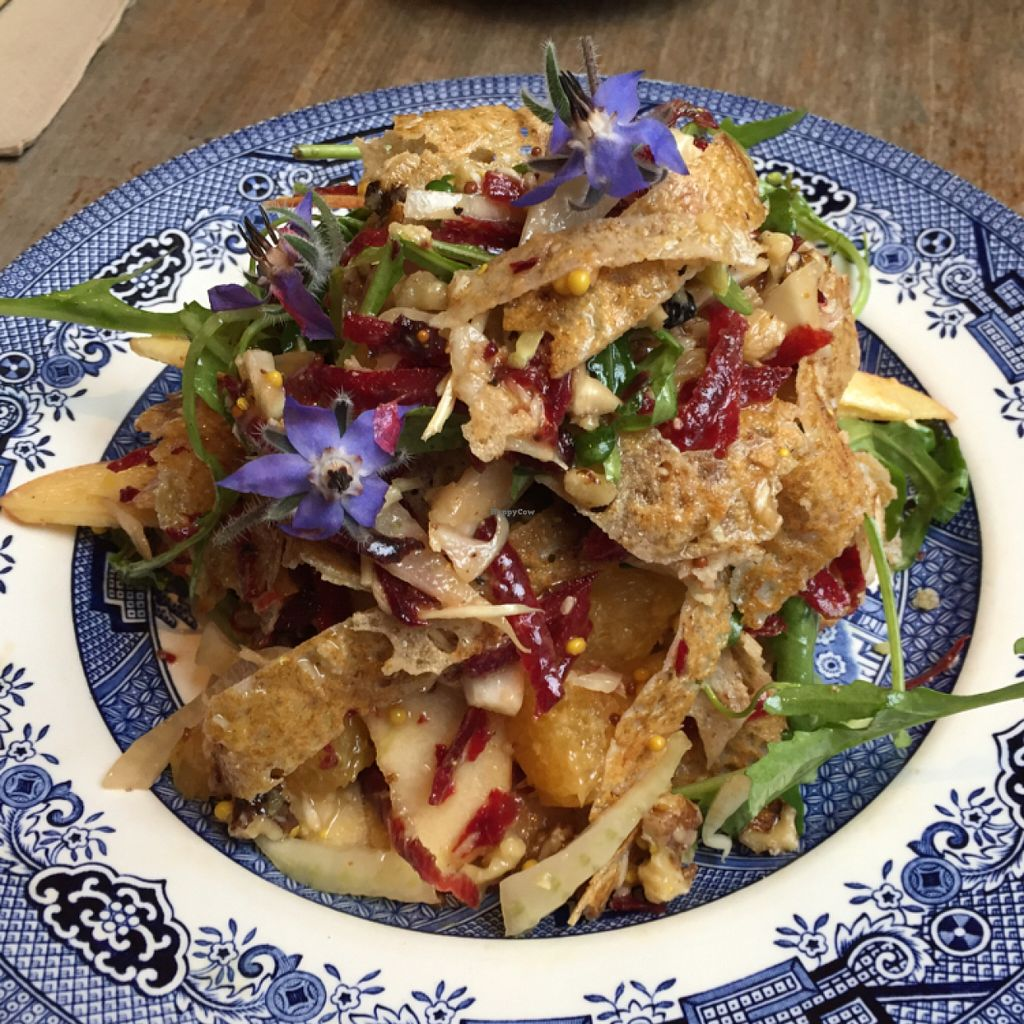 "Photo of Aubrey's Traditional Creperie  by <a href=""/members/profile/Chris_D"">Chris_D</a> <br/>Vegan galette salad <br/> June 29, 2016  - <a href='/contact/abuse/image/37524/156779'>Report</a>"