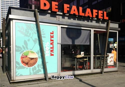 """Photo of De Falafel  by <a href=""""/members/profile/evelinemater"""">evelinemater</a> <br/>De Falafel stall at the east end of the Binnewegplein <br/> July 9, 2013  - <a href='/contact/abuse/image/37527/51006'>Report</a>"""
