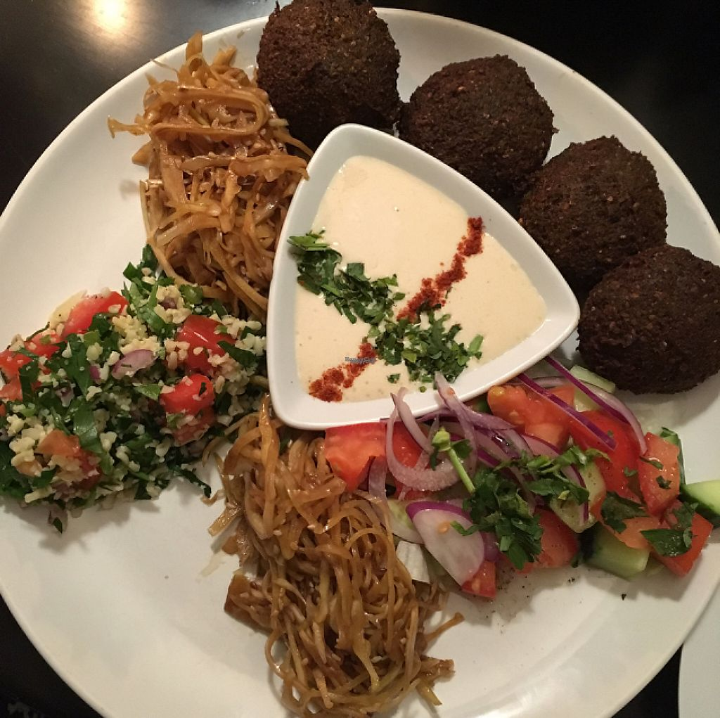 """Photo of Feinberg's  by <a href=""""/members/profile/necia"""">necia</a> <br/>Falafel meal <br/> November 26, 2016  - <a href='/contact/abuse/image/37533/194820'>Report</a>"""