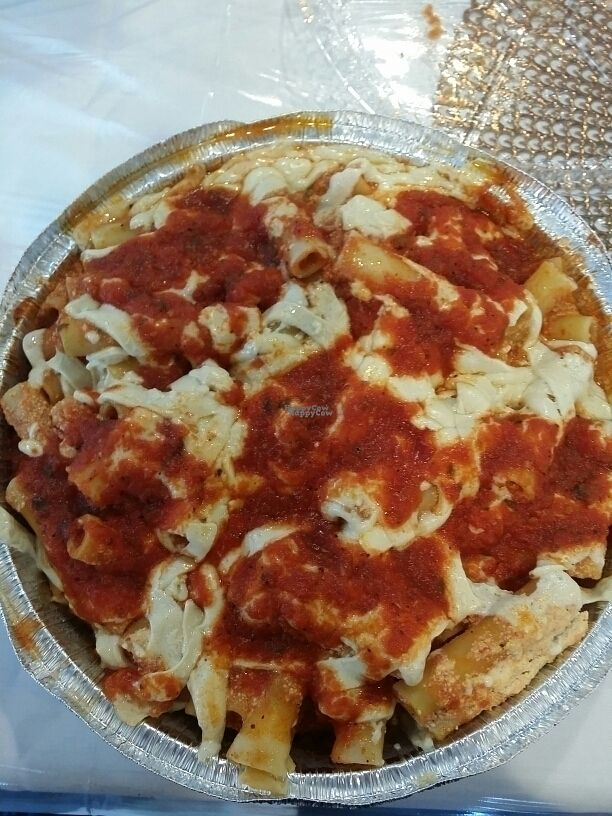 """Photo of 3 Brothers Pizza Cafe  by <a href=""""/members/profile/tracyrocks"""">tracyrocks</a> <br/>baked ziti  <br/> September 2, 2016  - <a href='/contact/abuse/image/37545/172968'>Report</a>"""