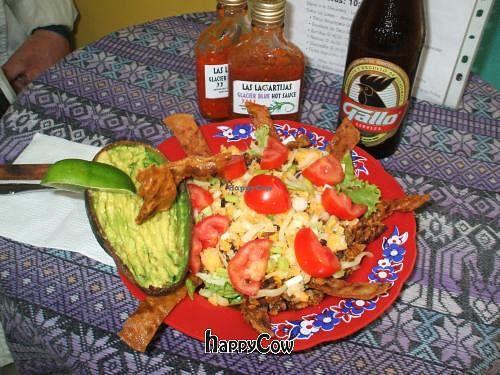 "Photo of Las Lagartijas  by <a href=""/members/profile/lagartijas"">lagartijas</a> <br/>Tofu Taco Salad <br/> March 31, 2013  - <a href='/contact/abuse/image/37552/46328'>Report</a>"