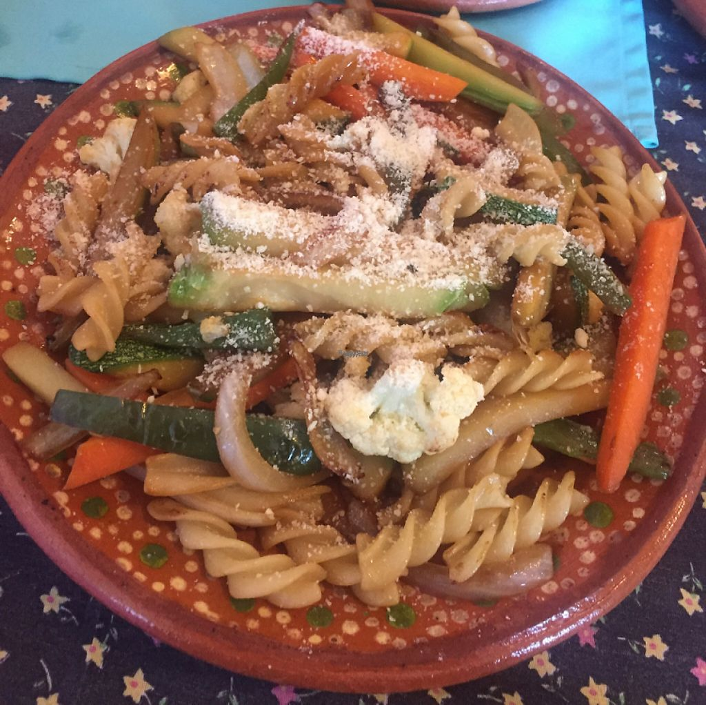"""Photo of Yerbabuena del Sisal  by <a href=""""/members/profile/Mirage"""">Mirage</a> <br/>pasta with vegetables <br/> January 14, 2017  - <a href='/contact/abuse/image/37576/211967'>Report</a>"""