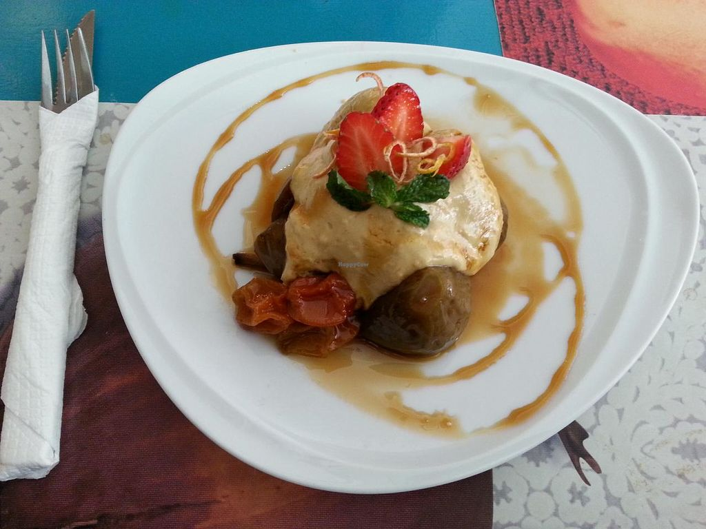 """Photo of Chirimoya  by <a href=""""/members/profile/liz88"""">liz88</a> <br/>dessert with figs and cashew cream <br/> June 25, 2015  - <a href='/contact/abuse/image/37591/107279'>Report</a>"""
