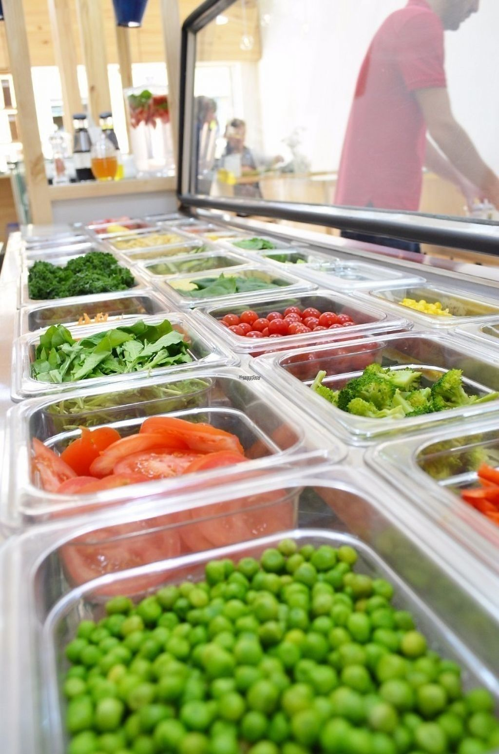 """Photo of El Tokte  by <a href=""""/members/profile/livegreensuperfoods"""">livegreensuperfoods</a> <br/>salad bar (opens for lunch) <br/> April 23, 2017  - <a href='/contact/abuse/image/37609/251331'>Report</a>"""