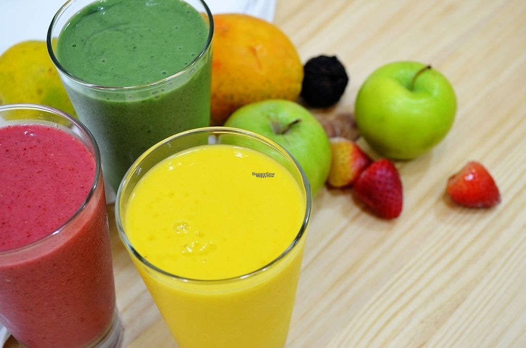 """Photo of El Tokte  by <a href=""""/members/profile/livegreensuperfoods"""">livegreensuperfoods</a> <br/>healthy smoothies, most of them are made with almond milk <br/> April 23, 2017  - <a href='/contact/abuse/image/37609/251334'>Report</a>"""