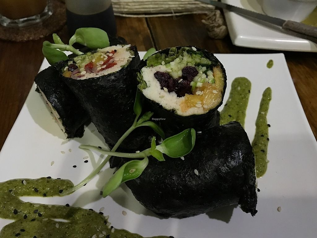 "Photo of La Senda Restaurante  by <a href=""/members/profile/EvelisseCap%C3%B3"">EvelisseCapó</a> <br/>Sushi Rolls <br/> May 29, 2017  - <a href='/contact/abuse/image/37678/263961'>Report</a>"