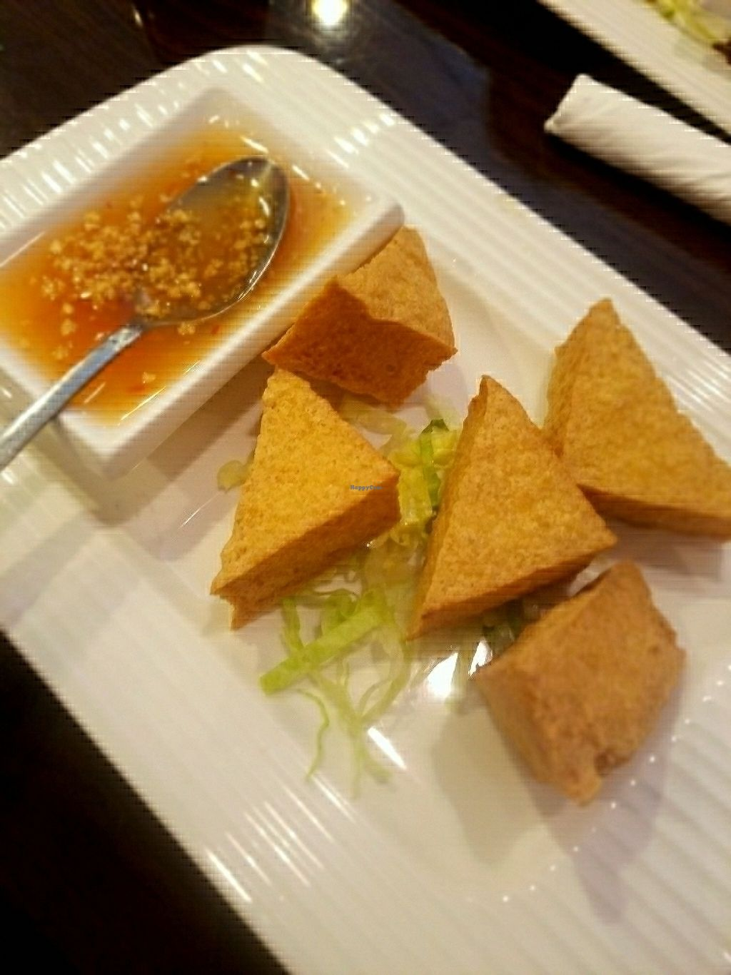 """Photo of Thai Mango Asian Bistro  by <a href=""""/members/profile/Silly%20Little%20Vegan"""">Silly Little Vegan</a> <br/>Tofu appetizer  <br/> May 31, 2017  - <a href='/contact/abuse/image/37692/264651'>Report</a>"""