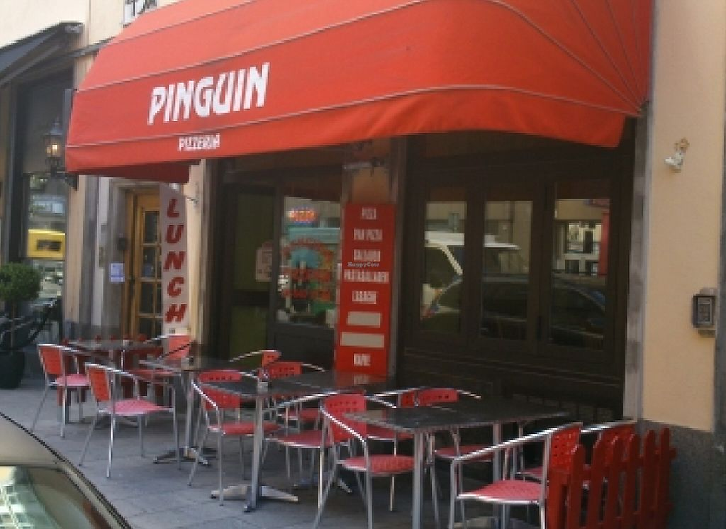 """Photo of Pizzeria Penguin  by <a href=""""/members/profile/tassosandreou"""">tassosandreou</a> <br/>View of Pizzeria Penguin and the outdoor seating <br/> August 17, 2015  - <a href='/contact/abuse/image/37698/246076'>Report</a>"""
