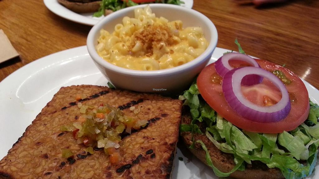 """Photo of Veggie Grill  by <a href=""""/members/profile/eric"""">eric</a> <br/>Bali bliss with side of Mac and cheese <br/> August 17, 2014  - <a href='/contact/abuse/image/37736/77321'>Report</a>"""
