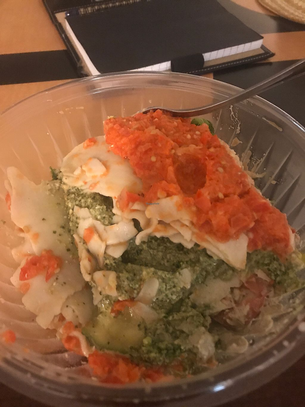 """Photo of The Sanibel Sprout  by <a href=""""/members/profile/RoBeanMartino"""">RoBeanMartino</a> <br/>Vegan raw lasagna  <br/> April 24, 2018  - <a href='/contact/abuse/image/37754/390340'>Report</a>"""