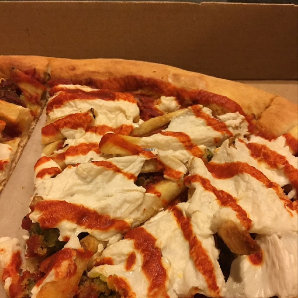 """Photo of REMOVED: Ta-Ta's Pizza  by <a href=""""/members/profile/Itzhakb"""">Itzhakb</a> <br/>""""gore"""" vegan pizza <br/> February 26, 2017  - <a href='/contact/abuse/image/37806/230505'>Report</a>"""