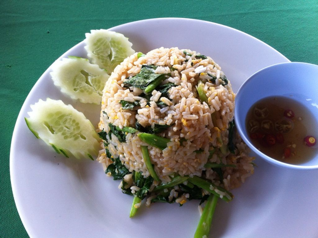 """Photo of Riverside  by <a href=""""/members/profile/Arvid"""">Arvid</a> <br/>Fried rice (12,000 kip) <br/> February 23, 2016  - <a href='/contact/abuse/image/37810/137502'>Report</a>"""