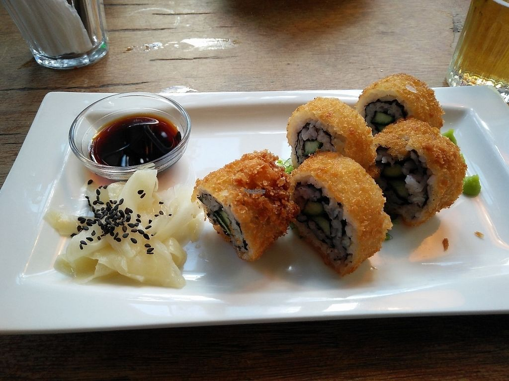 """Photo of Studio K  by <a href=""""/members/profile/tirza"""">tirza</a> <br/>amazing crispy sushi with cucumber <br/> February 3, 2017  - <a href='/contact/abuse/image/37828/221600'>Report</a>"""