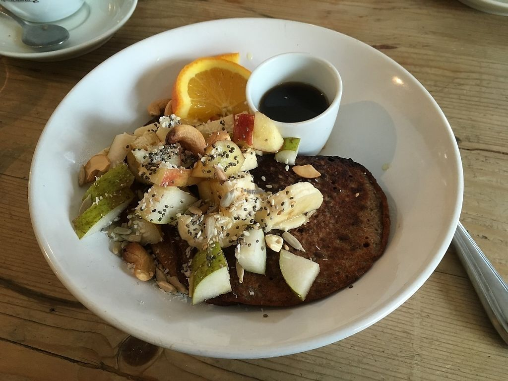 """Photo of Beter & Leuk  by <a href=""""/members/profile/LouiseJT"""">LouiseJT</a> <br/>Vegan buckwheat pancakes  <br/> March 3, 2017  - <a href='/contact/abuse/image/37875/232151'>Report</a>"""