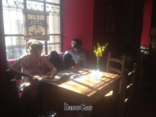 Photo of Condor Cafe  by condorcafe <br/>Come and relax in our cozy window seat!  <br/> May 8, 2013  - <a href='/contact/abuse/image/37900/47975'>Report</a>