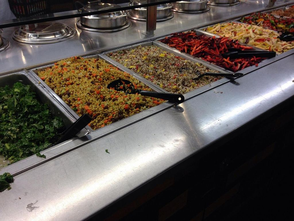 """Photo of Whole Foods Market - I St  by <a href=""""/members/profile/cookiem"""">cookiem</a> <br/>Food buffet choices <br/> April 17, 2014  - <a href='/contact/abuse/image/37910/67791'>Report</a>"""