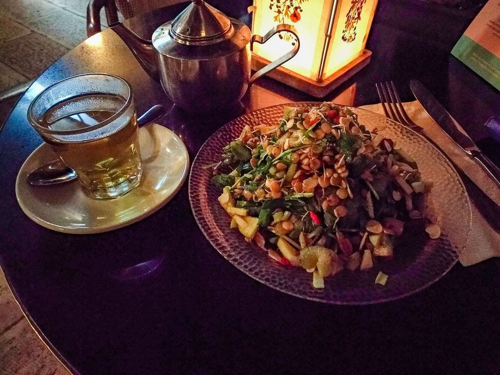 """Photo of Meshek Barzilay  by <a href=""""/members/profile/maltman23"""">maltman23</a> <br/>Sprouted Salad at Meshek Barzilay <br/> May 12, 2018  - <a href='/contact/abuse/image/37930/398607'>Report</a>"""
