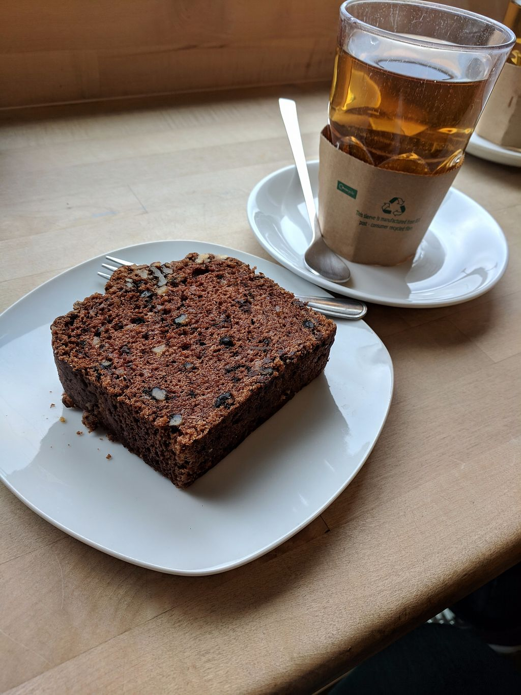 "Photo of Veganz - Berlin Friedrichshain  by <a href=""/members/profile/Pupnik"">Pupnik</a> <br/>Chocolate loaf <br/> November 16, 2017  - <a href='/contact/abuse/image/37940/326279'>Report</a>"