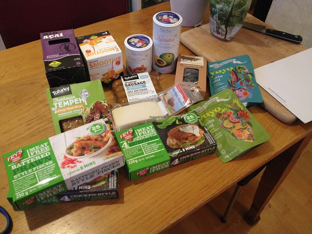 "Photo of Veganz - Berlin Friedrichshain  by <a href=""/members/profile/o0Carolyn0o"">o0Carolyn0o</a> <br/>Some stuff I picked up before heading back to Dresden <br/> March 16, 2018  - <a href='/contact/abuse/image/37940/371477'>Report</a>"