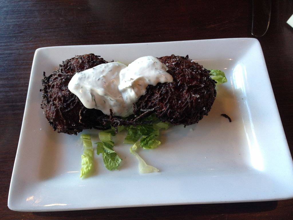 """Photo of The Grange  by <a href=""""/members/profile/kelwood13"""">kelwood13</a> <br/>Root Vegetable Latkes <br/> December 20, 2015  - <a href='/contact/abuse/image/37950/129325'>Report</a>"""