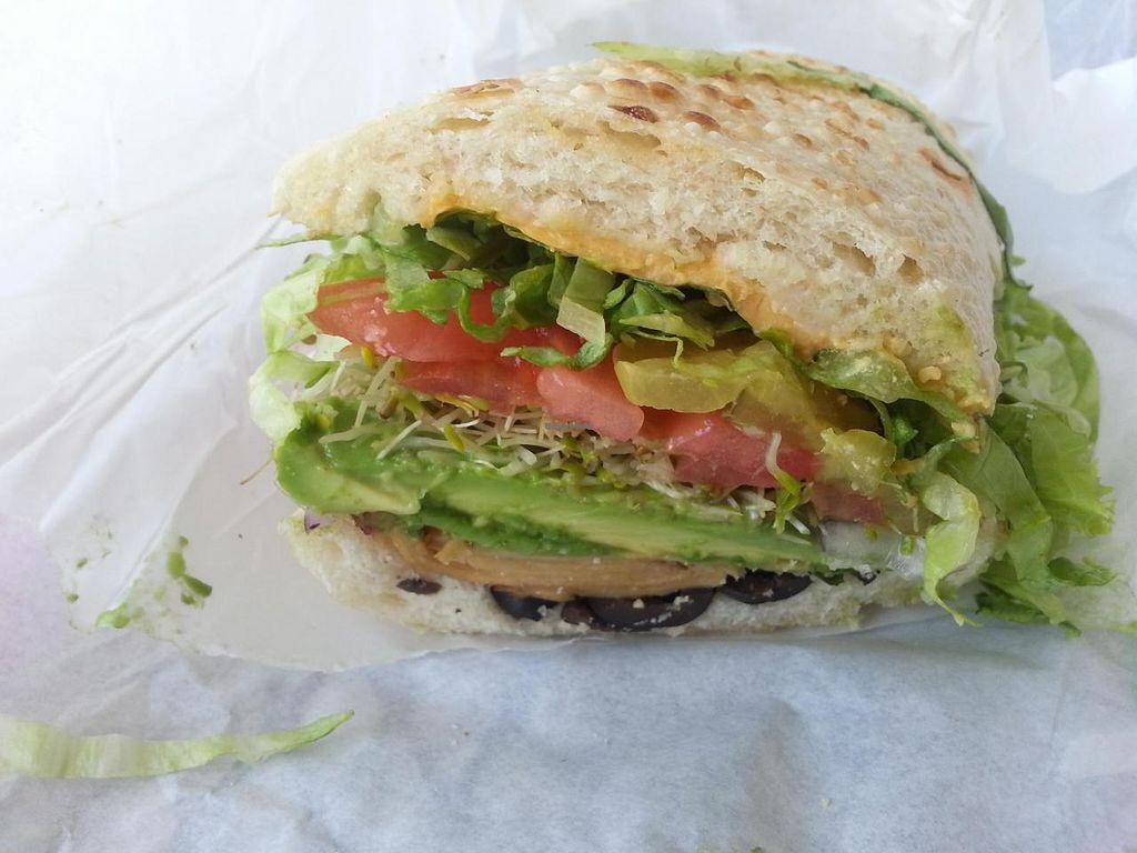 "Photo of The Best Little Sandwich Shop - Eureka Way  by <a href=""/members/profile/Conniemm"">Conniemm</a> <br/>Sponge Bob sandwich <br/> July 2, 2014  - <a href='/contact/abuse/image/37963/73079'>Report</a>"