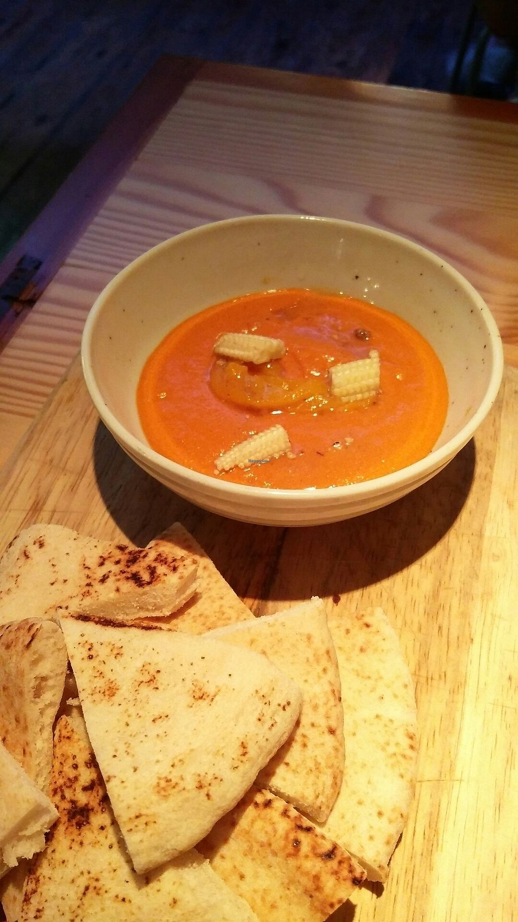 "Photo of Rasoterra Bistrot Vegetaria  by <a href=""/members/profile/Harp"">Harp</a> <br/>Tofu and red pepper dip <br/> July 6, 2017  - <a href='/contact/abuse/image/37964/277062'>Report</a>"
