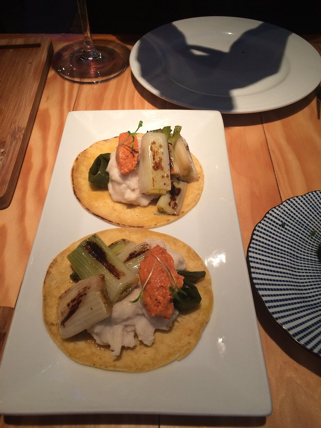 "Photo of Rasoterra Bistrot Vegetaria  by <a href=""/members/profile/sabrinajh"">sabrinajh</a> <br/>Vegan tacos - white bean purée, grilled vegetables. Not the best thing they had on the menu.  <br/> December 31, 2017  - <a href='/contact/abuse/image/37964/341431'>Report</a>"
