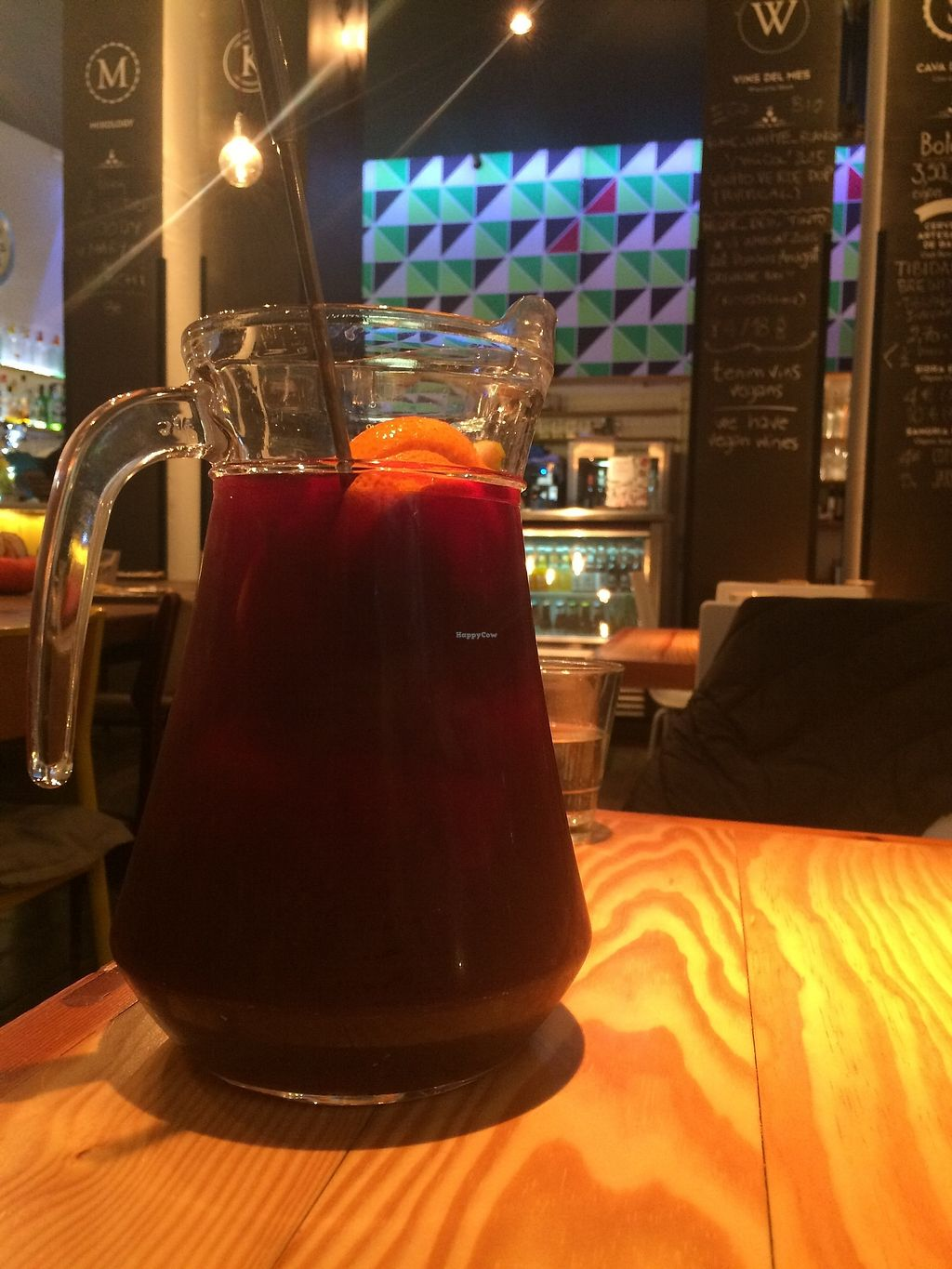 "Photo of Rasoterra Bistrot Vegetaria  by <a href=""/members/profile/sabrinajh"">sabrinajh</a> <br/>Pitcher of sangria, very good! <br/> December 31, 2017  - <a href='/contact/abuse/image/37964/341433'>Report</a>"