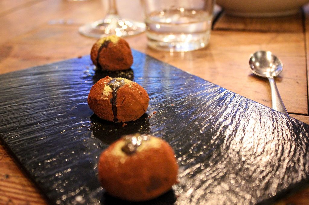"Photo of Rasoterra Bistrot Vegetaria  by <a href=""/members/profile/SueClesh"">SueClesh</a> <br/>chocolate truffles <br/> April 17, 2018  - <a href='/contact/abuse/image/37964/387105'>Report</a>"