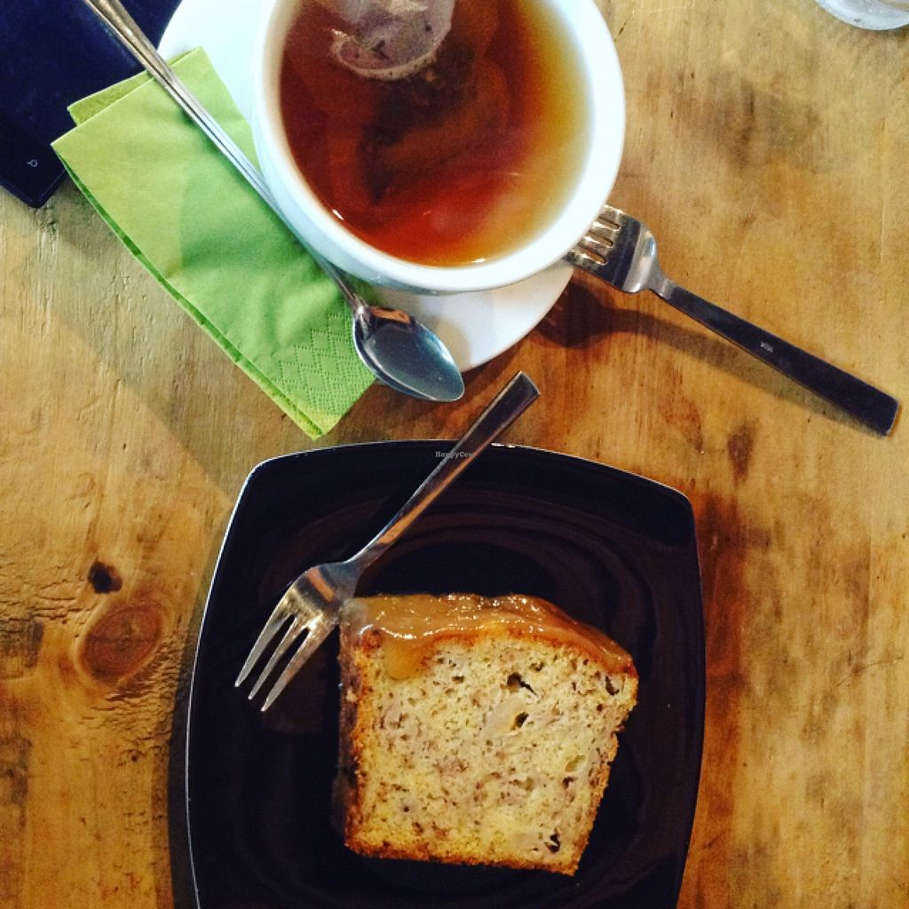 """Photo of mmhio  by <a href=""""/members/profile/cookiemonster22"""">cookiemonster22</a> <br/>banana bread (available every day) with tea <br/> April 6, 2016  - <a href='/contact/abuse/image/37978/143141'>Report</a>"""