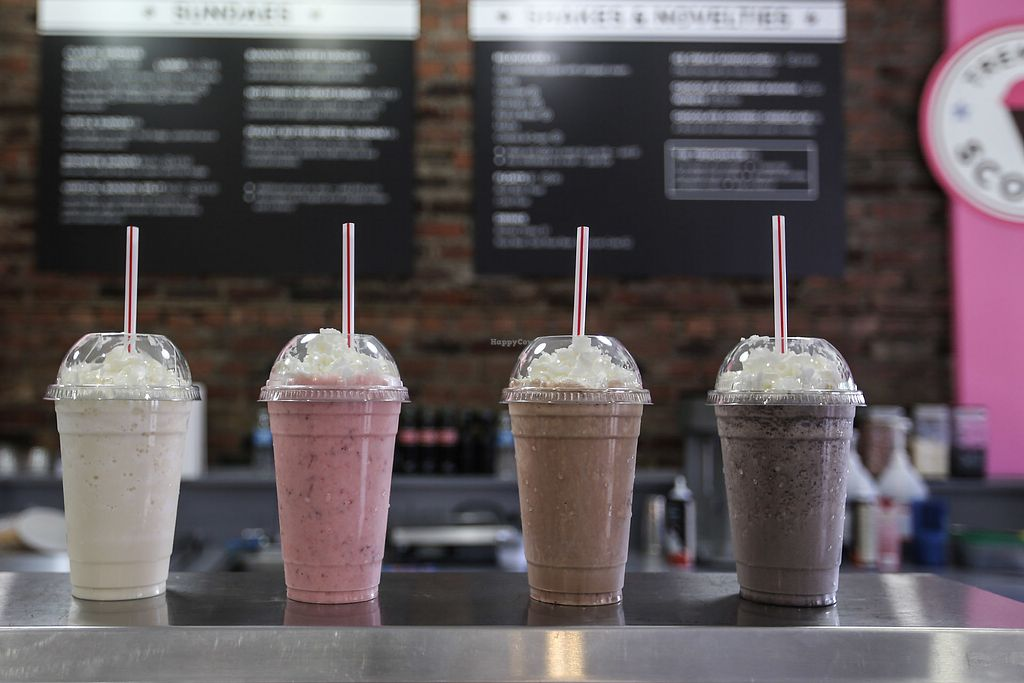 """Photo of Tremont Scoops  by <a href=""""/members/profile/Pweinzimmer"""">Pweinzimmer</a> <br/>vegan shakes <br/> June 22, 2017  - <a href='/contact/abuse/image/37982/272346'>Report</a>"""