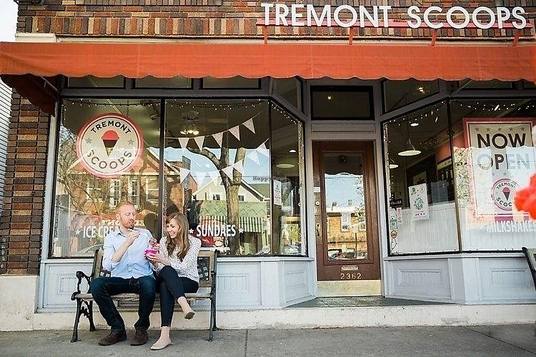 """Photo of Tremont Scoops  by <a href=""""/members/profile/Pweinzimmer"""">Pweinzimmer</a> <br/>Outside Tremont Scoops <br/> June 22, 2017  - <a href='/contact/abuse/image/37982/272348'>Report</a>"""