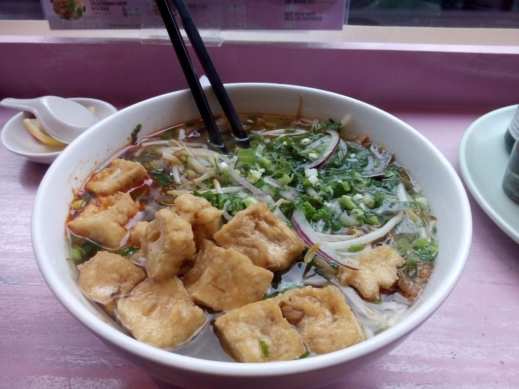 """Photo of Aobaba  by <a href=""""/members/profile/nausicaa"""">nausicaa</a> <br/>Spicy Hue style noodle soup <br/> July 13, 2016  - <a href='/contact/abuse/image/37986/159600'>Report</a>"""