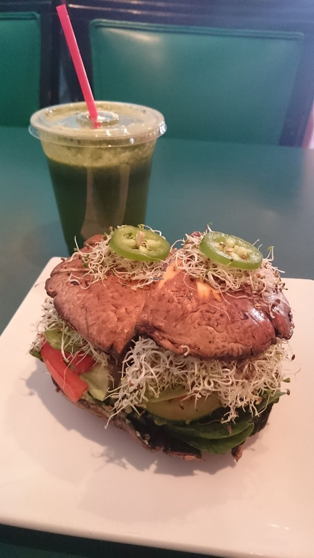 "Photo of Rainbow's End  by <a href=""/members/profile/chb-pbfp"">chb-pbfp</a> <br/>Raw portobello burger <br/> August 26, 2017  - <a href='/contact/abuse/image/37989/297351'>Report</a>"