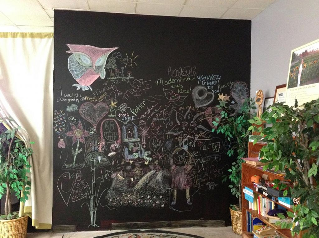 "Photo of Rainbow's End  by <a href=""/members/profile/aralacia"">aralacia</a> <br/>Chalkboard in the dining area <br/> February 27, 2015  - <a href='/contact/abuse/image/37989/94307'>Report</a>"