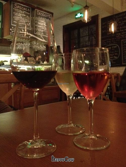 """Photo of Organic Kitchen and Wine  by <a href=""""/members/profile/Katharinenstrasse"""">Katharinenstrasse</a> <br/>House wine <br/> April 11, 2013  - <a href='/contact/abuse/image/37994/46845'>Report</a>"""