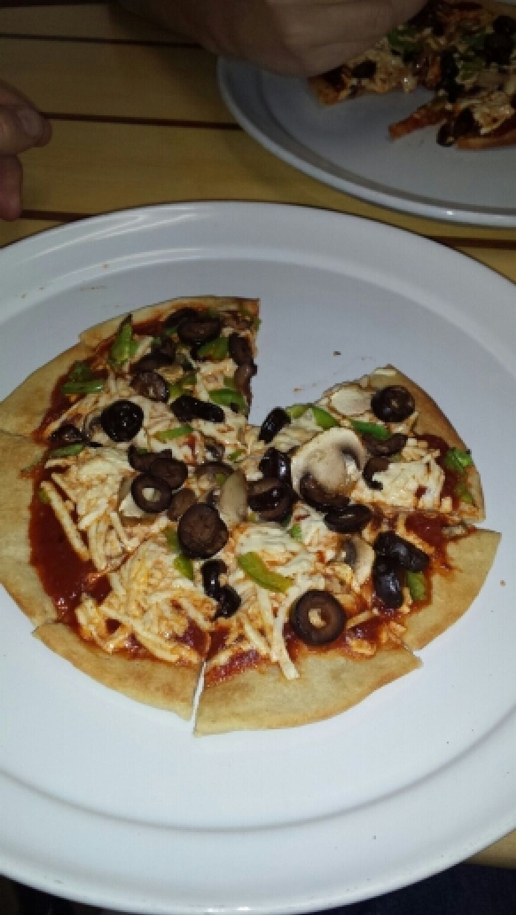 """Photo of Pure Healing Foods  by <a href=""""/members/profile/horseleach"""">horseleach</a> <br/>Vegan Pizzas <br/> February 10, 2016  - <a href='/contact/abuse/image/37999/135760'>Report</a>"""