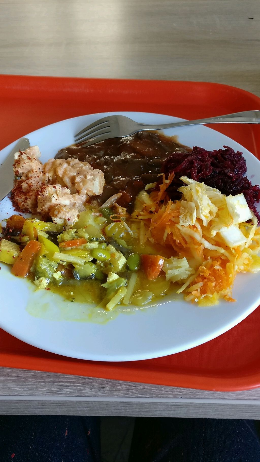 """Photo of Veg Life - Stare Mesto  by <a href=""""/members/profile/Pachamamma"""">Pachamamma</a> <br/>4.5 euros for this, all vegan <br/> March 22, 2018  - <a href='/contact/abuse/image/38007/374386'>Report</a>"""