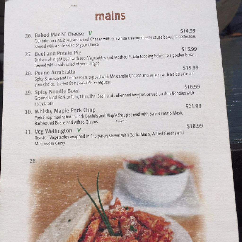 """Photo of Ancient Cedars Cafe  by <a href=""""/members/profile/AnnaNorman"""">AnnaNorman</a> <br/>menu Main dishes <br/> July 3, 2016  - <a href='/contact/abuse/image/38009/157446'>Report</a>"""