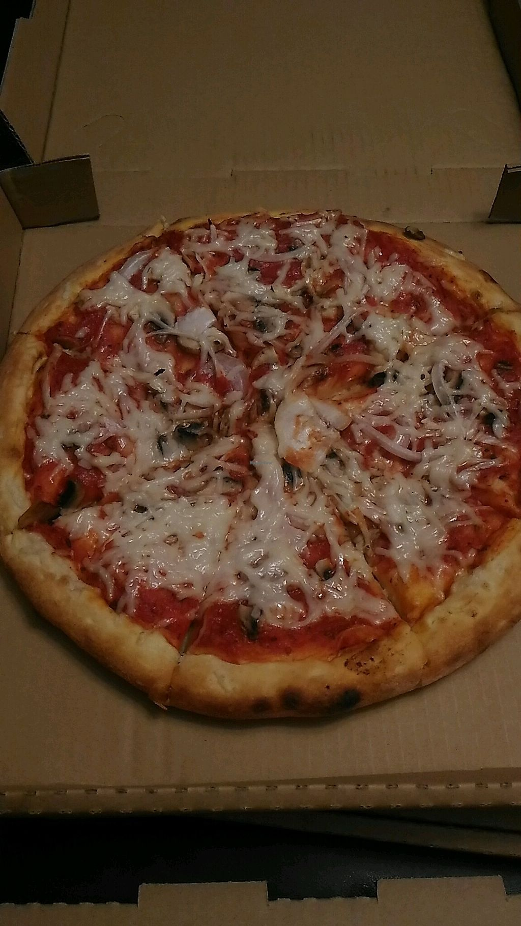 """Photo of Vegan Pizza  by <a href=""""/members/profile/QuothTheRaven"""">QuothTheRaven</a> <br/>pizza <br/> March 17, 2018  - <a href='/contact/abuse/image/38016/371590'>Report</a>"""