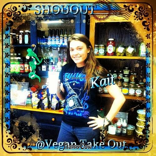 """Photo of CLOSED: Natural Detox Nutrition Shoppe  by <a href=""""/members/profile/ChrisBrito"""">ChrisBrito</a> <br/>Kait having a Smoothie <br/> June 5, 2013  - <a href='/contact/abuse/image/38028/49182'>Report</a>"""