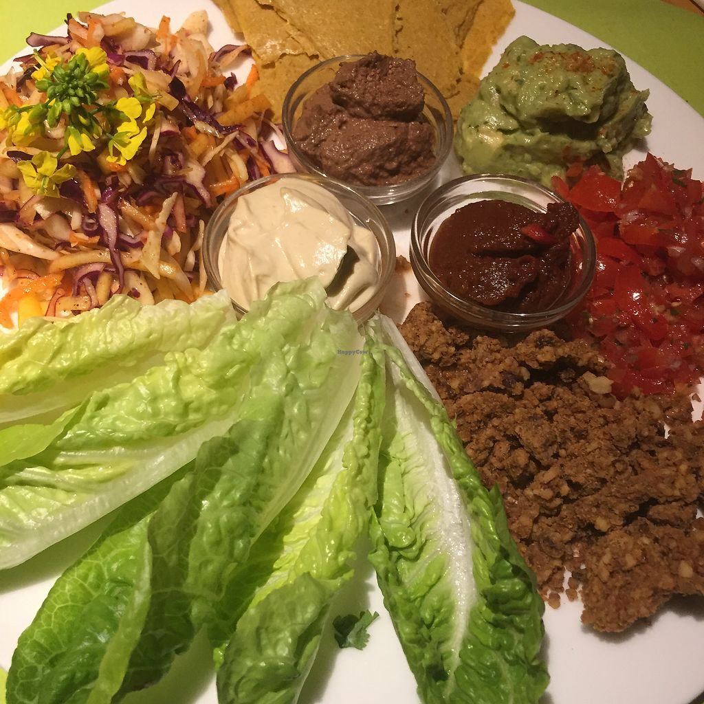 """Photo of Veggies on Fire  by <a href=""""/members/profile/Eefie"""">Eefie</a> <br/>Raw fajitas 'Mexican Party' <br/> March 20, 2018  - <a href='/contact/abuse/image/38030/373432'>Report</a>"""