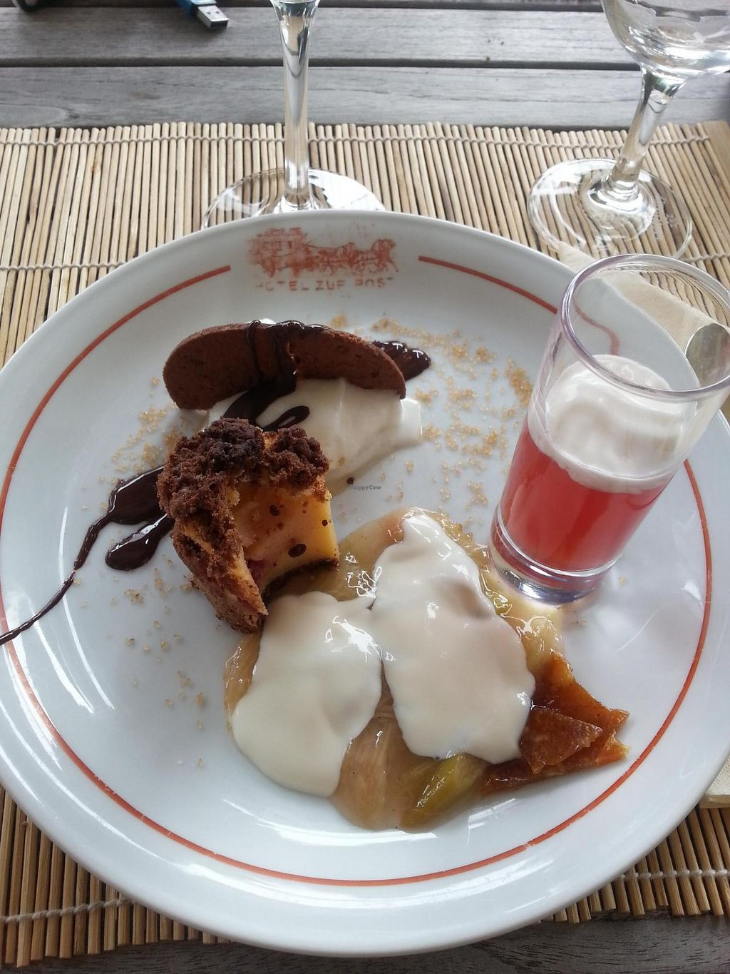 """Photo of Die Weinstube Nachhaltig Geniessen  by <a href=""""/members/profile/coi"""">coi</a> <br/>Dessert <br/> August 26, 2014  - <a href='/contact/abuse/image/38053/78289'>Report</a>"""
