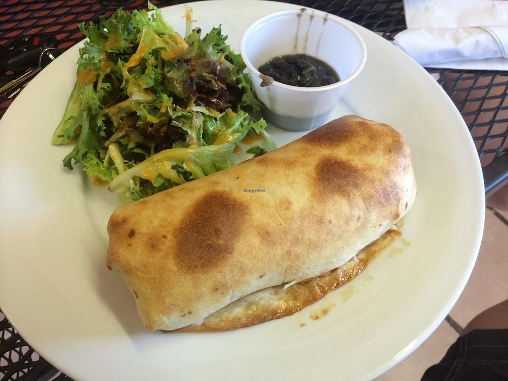 """Photo of Whiptail Grill  by <a href=""""/members/profile/Meggie%20and%20Ben"""">Meggie and Ben</a> <br/>Vegan burrito <br/> September 27, 2014  - <a href='/contact/abuse/image/38056/81333'>Report</a>"""